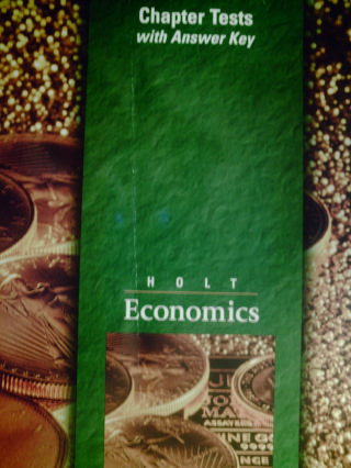 Holt Economics Chapter Tests with Answer Key (P ...