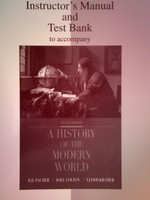 A History of the Modern World 9e IM & Test Bank (P) by McLean