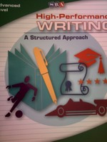 SRA High-Performance Writing Advanced Level TRB (TE)(Binder)