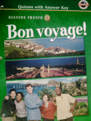 Bon Voyage 2 Quizzes With Answer Key P 0078243661