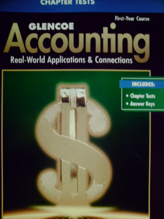 Accounting 1st-Year Course 5e Chapter Tests (P)