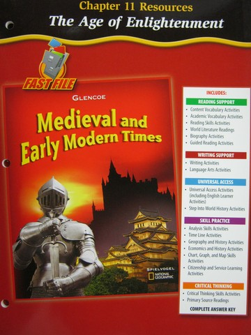 Medieval & Early Modern Times Chapter 11 Resources (P)