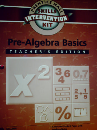 Skills Intervention Kit Pre-Algebra Basics TE (TE)(P) by Charles - Click Image to Close