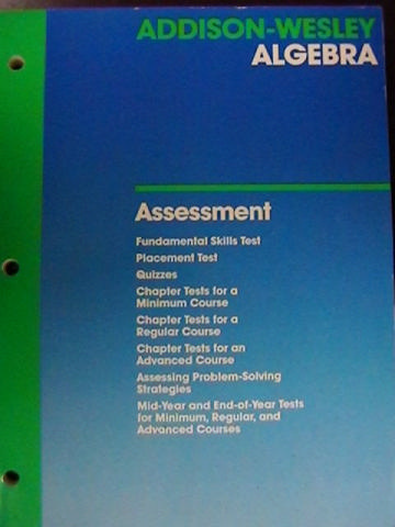 Addison-Wesley Algebra Assessment (P) by Smith, Charles,
