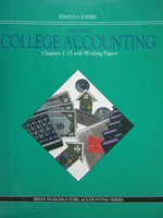 College Accounting Revised Edition Chapters 1-15 (P) by Koerber
