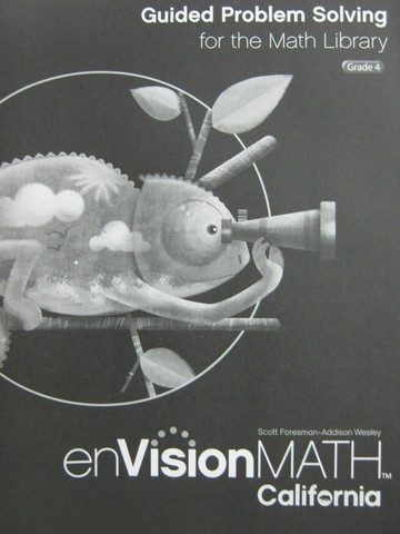 enVision Math California 4 Guided Problem Solving (CA)(P)