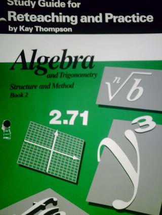 algebra trigonometry structure method book 2 study guide p 0395470641 k 12. Black Bedroom Furniture Sets. Home Design Ideas