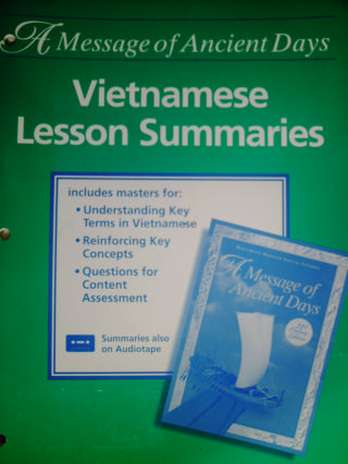 A Message of Ancient Days 21st Century Vietnamese Lesson Summ(P)