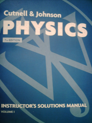 physics 7th edition ism volume 2 te p by cutnell johnson rh textbooknbeyond com