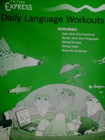 Writers Express Daily Language Workouts Level 4 (Spiral)