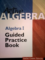 Active Algebra Algebra I Guided Practice Book (P) by Edgar