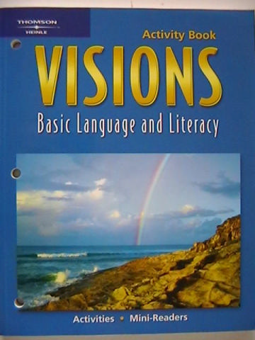 Visions Basic Language & Literacy Activity Book (P)