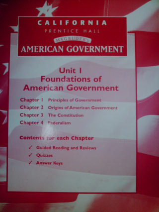 Magruders American Government Answers Chapter 14