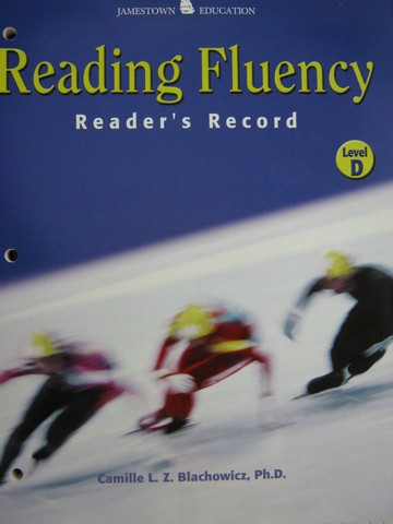 Reading Fluency D Reader's Record (P) by Blachowicz