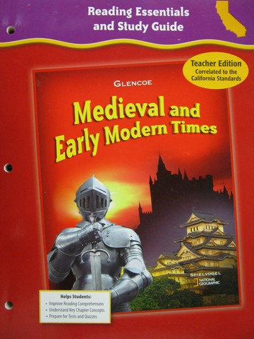 Medieval & Early Modern Times Reading Essentials (CA)(TE)(P)