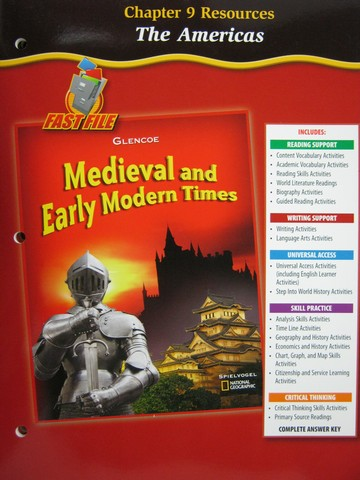 Medieval & Early Modern Times Chapter 9 Resources (P)