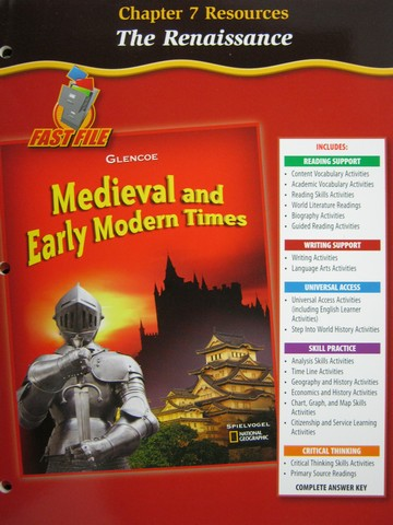 Medieval & Early Modern Times Chapter 7 Resources (P)