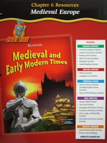 Medieval & Early Modern Times Chapter 6 Resources (P)