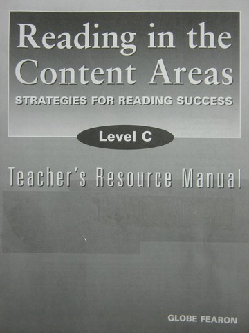 Reading in the Content Areas Level C TRM (TE)(P) by Kinsella