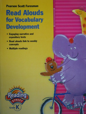Reading Street K Read Aloud for Vocabulary Development (P)