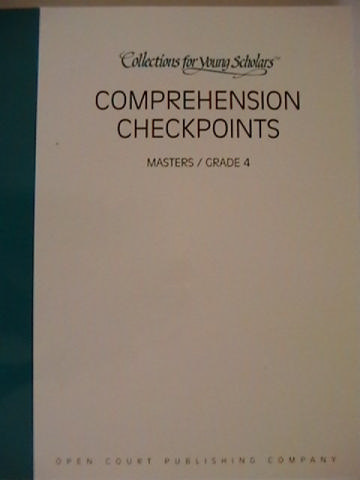 Collections for Young Scholars 4 Comprehension Checkpoints (P)