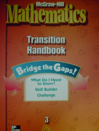 McGraw-Hill Mathematics 3 Transition Handbook (P)