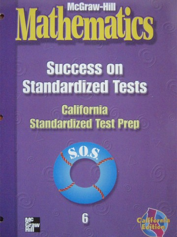 McGraw-Hill Mathematics 6 Success on Standardized Tests (CA)(P)