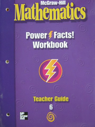 McGraw-Hill Mathematics 6 Power Facts! Workbook TG (TE)(P)