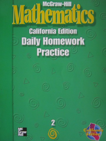 McGraw-Hill Mathematics 2 Daily Homework Practice (CA)(P)