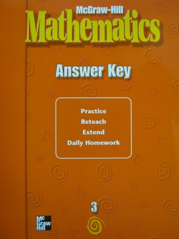 McGraw-Hill Mathematics 3 Answer Key (P)