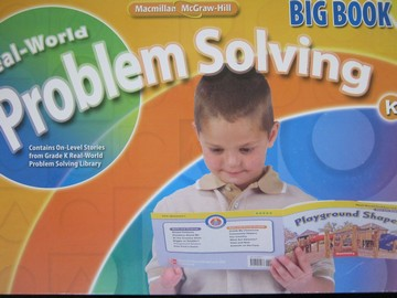 Real-World Problem Solving K Big Book (Spiral)(Big)