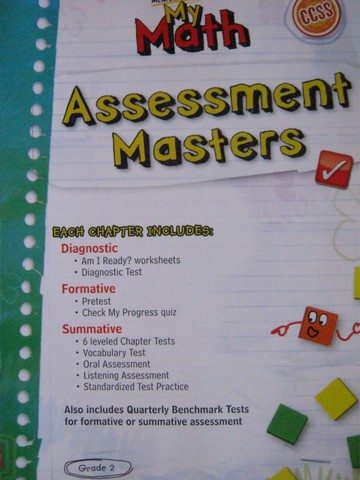 My Math 2 Assessment Masters (P)