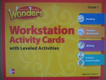 Wonders 1 Workstation Activity Cards (Pk)