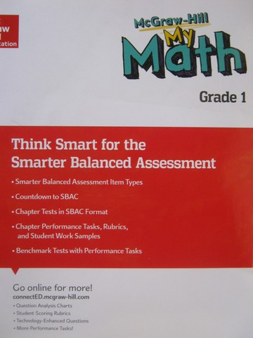 My Math 1 Think Smart for the Smarter Balanced Assessment (P)