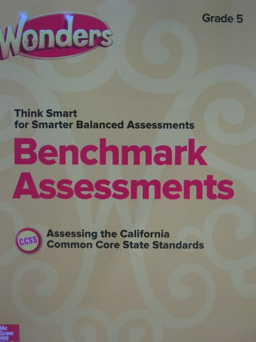 Wonders 5 Benchmark Assessments (CA)(P)