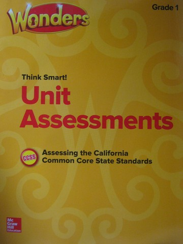 Wonders 1 Unit Assessments (CA)(P)