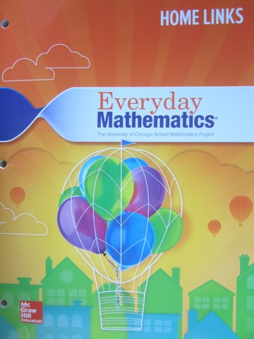 Everyday Mathematics CCSS 3 4th Edition Home Links (P)