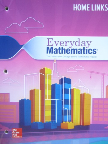 Everyday Mathematics CCSS 4 4th Edition Home Links (P)