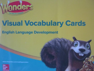 Wonders 1 ELD Visual Vocabulary Cards (Pk)