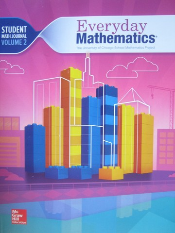 Everyday Mathematics CCSS 4 4th Edition Math Journal 2 (P)