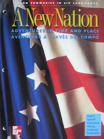 A New Nation 5 Lesson Summaries in 6 Languages (P)