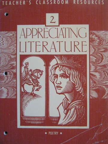 Appreciating Literature Poetry Signature Edition TCR (TE)(P)