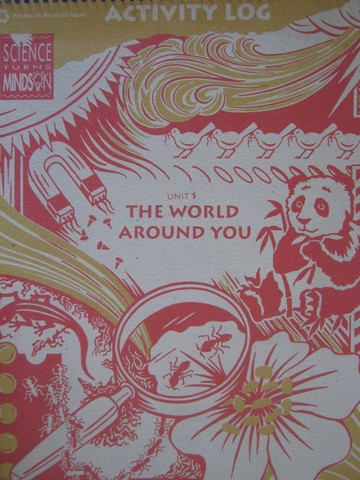 World Around You K Activity Log (Spiral)