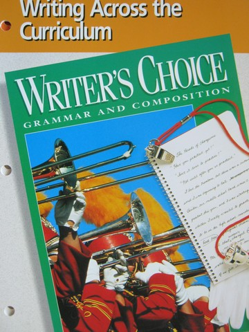 Writer's Choice 8 Writing Across the Curriculum (P)