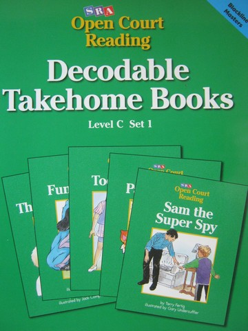 SRA Open Court Reading C-1 Decodable Takehome Books BLM (P)