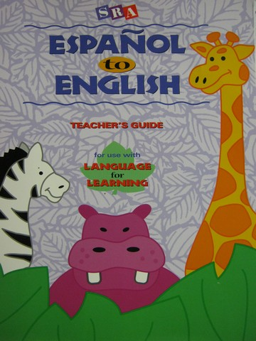 Language for Learning Espanol to English TG (TE)(P) by Garza