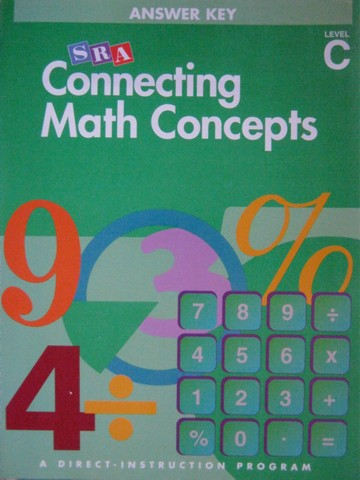 Connecting Math Concepts C Answer Key (P) by Engelmann & Carnine