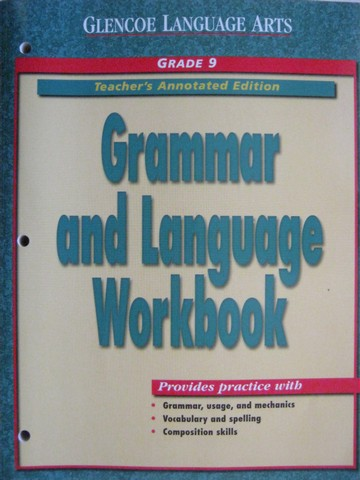 Grammar & Language Workbook 9 TAE (TE)(P)