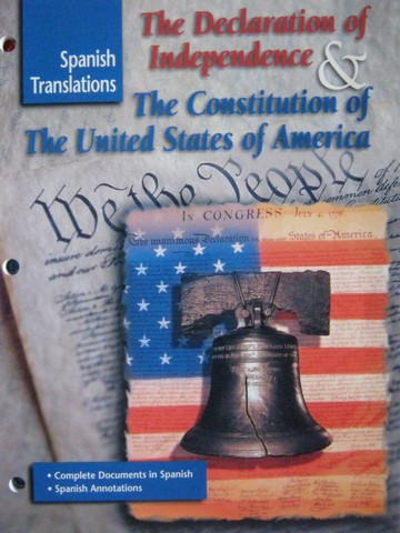 Declaration of Independence & The Constitution Spanish (P)