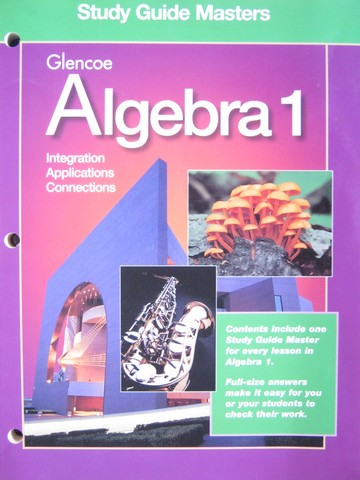 Glencoe Algebra 2 Study Guide Intervention Workbook P